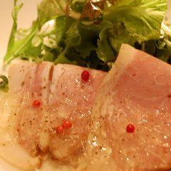 塩漬け豚の燻製